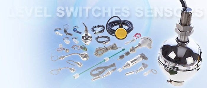Level switches and sensors banner