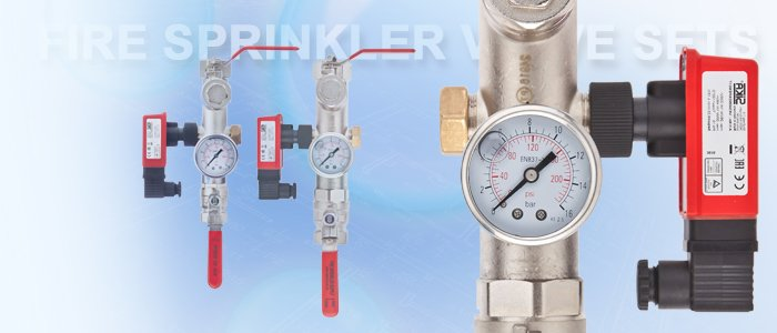 Fire Sprinkler Valve Sets - Slider Image