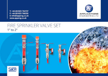 Fire Sprinkler Valve Sets - 1 to 2 inches - Product Page Image