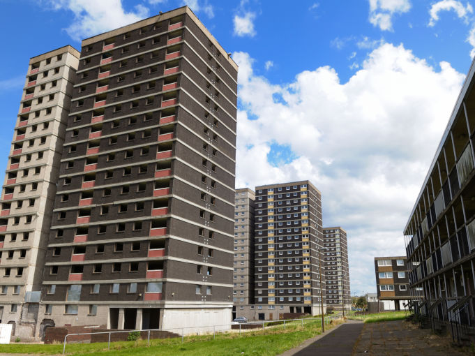 Tower Block council housing