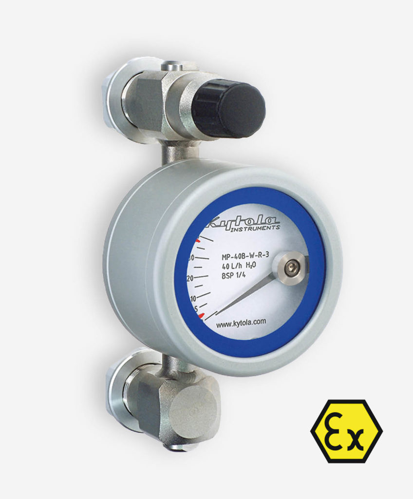 Metal Tube Flow meter Model MP-W